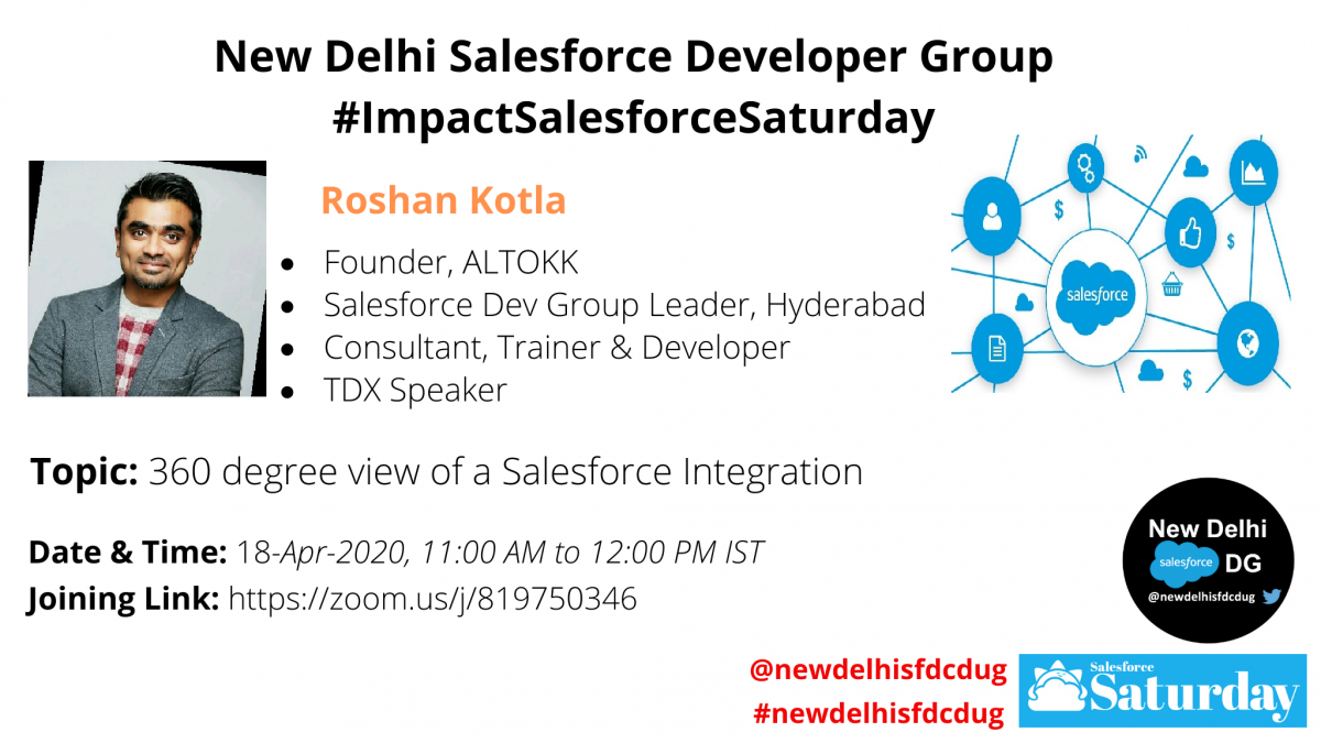 #ImpactSalesforceSaturday: 360 degree view of a Salesforce Integration