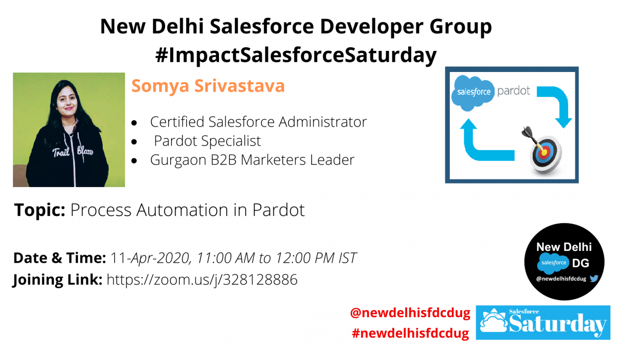 #ImpactSalesforceSaturday:Process Automation in Pardot